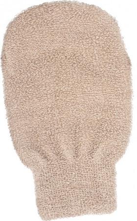 Kostkamm Massagehandschuh Leinen