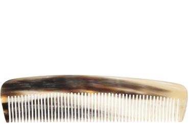 Taschenkamm Horn 13,5 cm fein – Bild 1