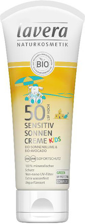 Lavera Kinder Sonnencreme sensitiv LSF 50 | 75ml
