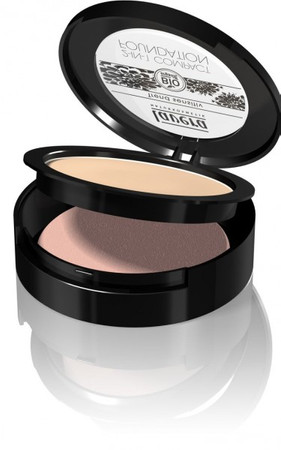 Lavera 2-in-1 Compact Foundation - Puder + Make up No.1 10g – Bild 1