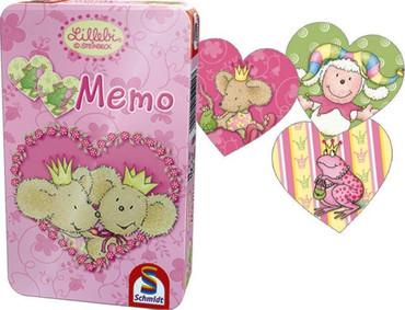 Kinder Memo Spiel Herz