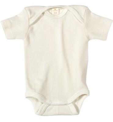 Bio Baby Body Kurzarm natural