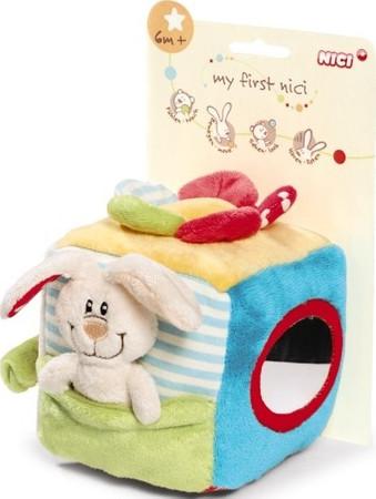 Nici Baby Lernwürfel Plüsch Hase