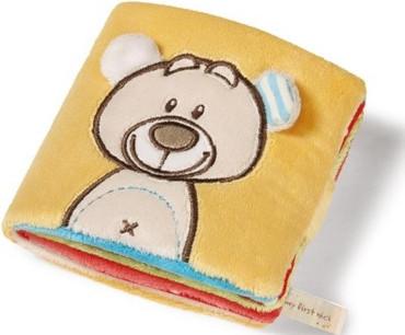 Nici Baby Stoffbuch Plüsch Bär