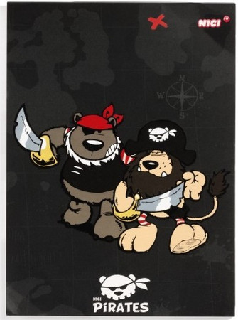 Nici Notizblock A5 Piraten