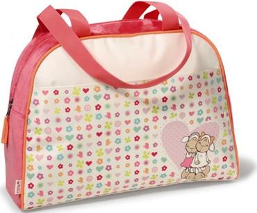 Mädchen Sporttasche rosa Nylontasche