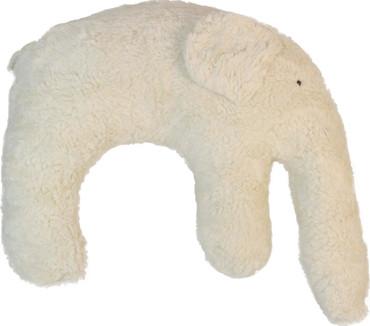 Bio Wellness Kissen - Nackenhörnchen Elefant – Bild 1