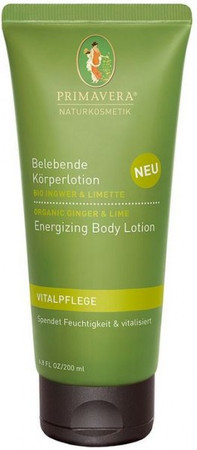 Primavera Ingwer Limette Bodylotion 200ml
