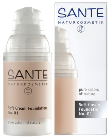 Sante Soft Creme Foundation No 1 porcellan - Make up 30ml