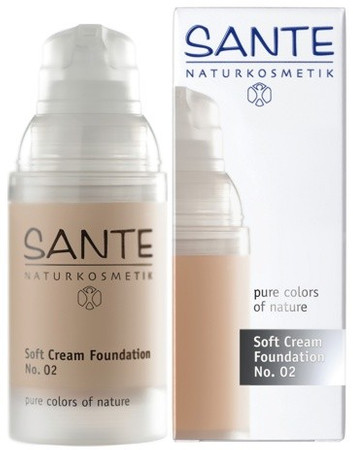Sante Soft Creme Foundation No 2 light beige - Make up 30ml