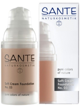 Sante Soft Creme Foundation No 3 sunny beige - Make up 30ml