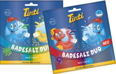 Tinti Badesalz Duo 80g farblich sortiert