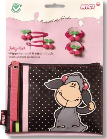 Nici Geschenkset Lucy Mäh Mäppchen & Haarschmuck