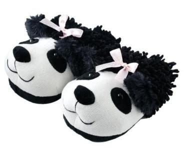 Tierhausschuhe Panda