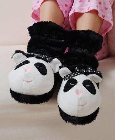 Kuschelstiefel Panda – Bild 1