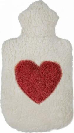 Kleine Plüsch Wärmflasche Herz