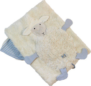 Bio Babydecke & Kuscheldecke Schaf