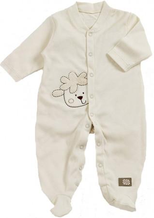 Baby Schlafstrampler Schaf aus Bio Baumwolle