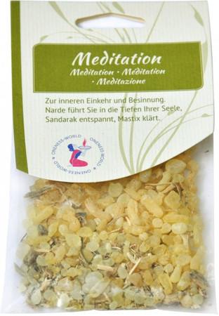 Räuchermischung Meditation 15g