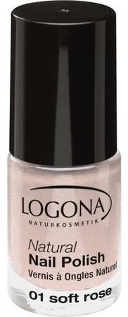 Logona Nagellack No. 01 soft rose 4ml – Bild 1