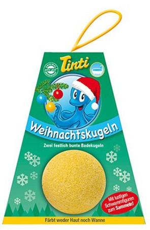 Tinti Weihnachtskugeln im 2er Pack (farblich sortiert) – Bild 1