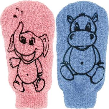 Förster Kinderwaschhandschuh bunt – Bild 1