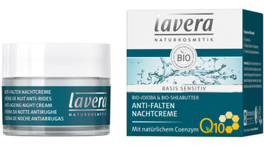 Lavera Basis sensitiv Nachtcreme Q10 50ml