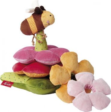 Sigikid Baby Stapelspiel Blumen - PlayQ – Bild 1