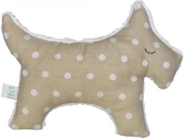 Baby Kuschel-Stoffhund - Organic