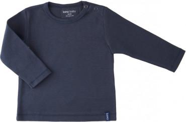 Lana Baby Langarmshirt blau - Organic – Bild 1
