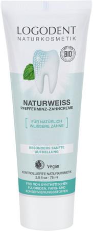 Logona Zahncreme Naturweiß 75ml