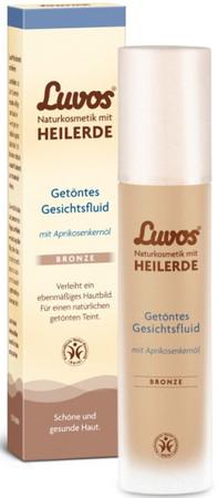 Luvos Heilerde getöntes Gesichtsfluid bronze 50ml