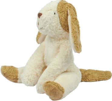 Bio Plüschhund Schlenker weiß-beige 30 cm