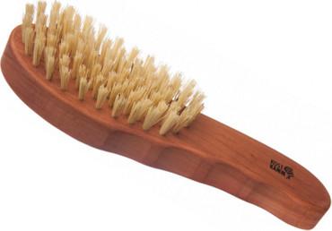 Kostkamm Holz Haarbürste für lange Haare mit Sisalborsten