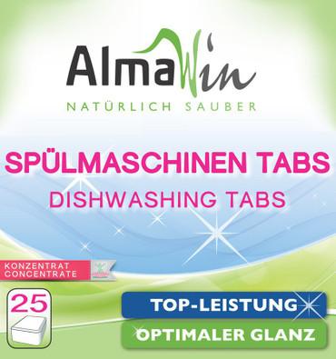 AlmaWin Spül Maschinentabs 25 Stück