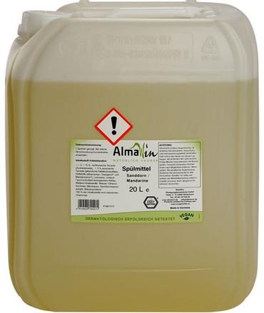 AlmaWin Spülmittel Sanddorn Mandarine – Bild 2