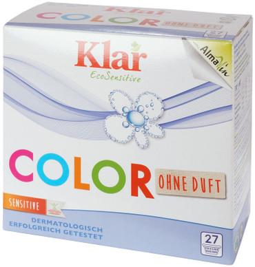 Klar Color Waschpulver ohne Duftstoffe – Bild 1