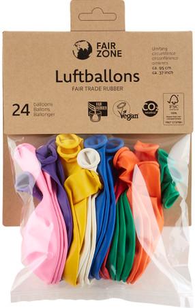 Naturkautschuk Luftballons 24 St. Fair Trade