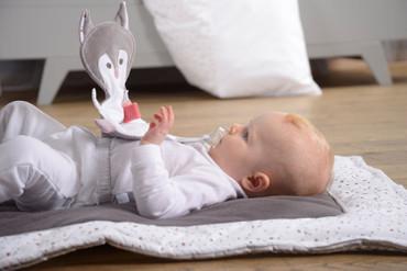 Baby Krabbeldecke Sterne Organic | Kikadu – Bild 1