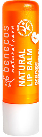 Benecos Lip Balm Orange 4,8g – Bild 2