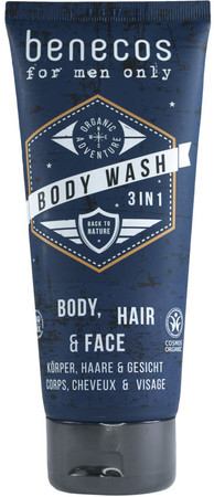 Benecos Men Body Wash 3in1  200ml