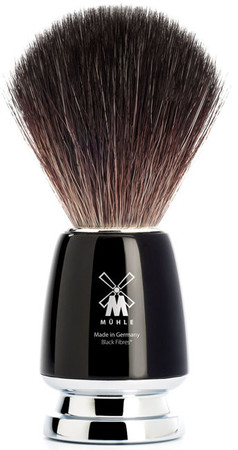 Mühle Rytmo Rasierpinsel schwarz fibre – Bild 1