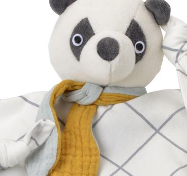 Bio Schnuffeltuch Panda | Kikadu – Bild 2