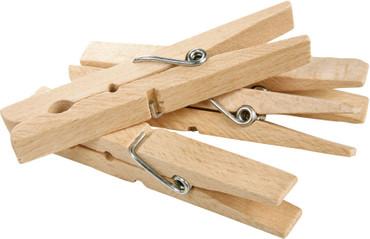 Redecker Holzwäscheklammern