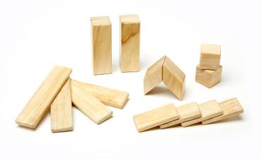 Holz Magnetbausteine Starterset 14tlg | Tegu