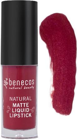 Benecos Liquid Lipstick matt bloody berry 5ml