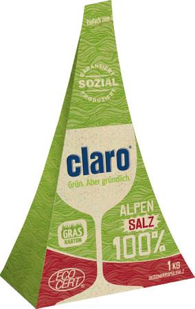 Claro Alpensalz   Regeneriersalz 1 kg – Bild 1