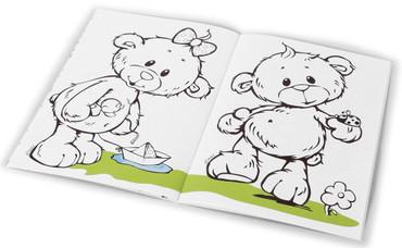 Nici Malbuch mit Sticker  A4 – Bild 2