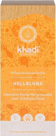 Khadi Pflanzenhaarfarbe Hellblond 100g