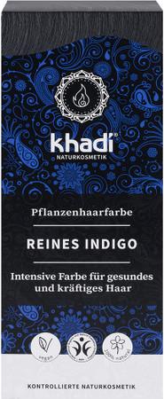 Khadi Pflanzenhaarfarbe Indigo 100g